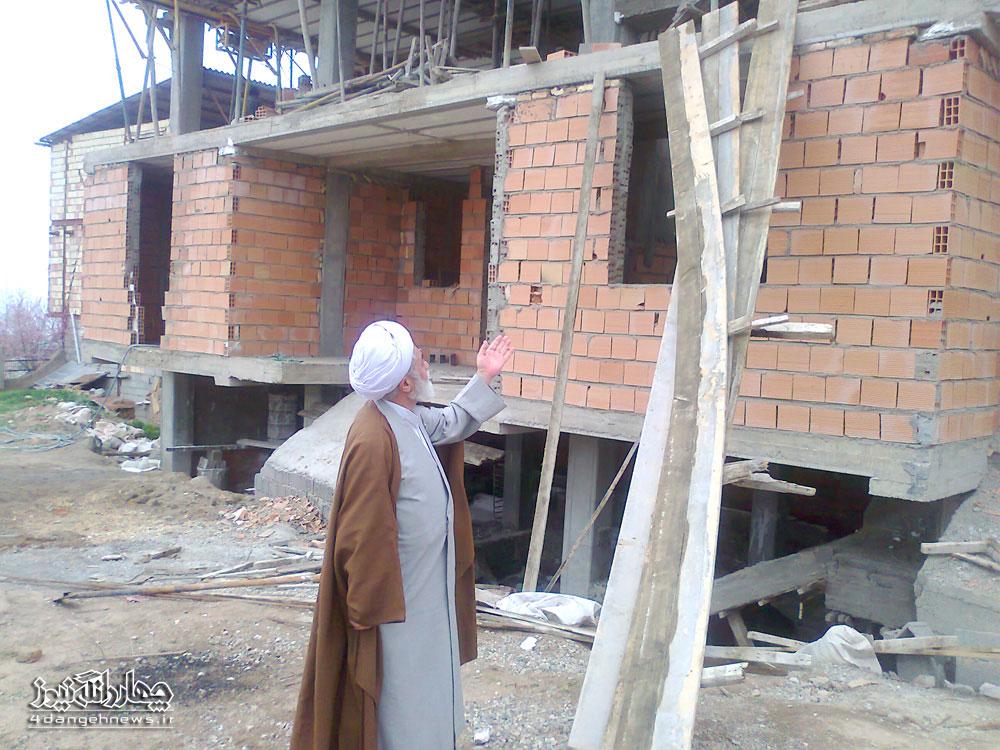 دفتر و منزل امام جمعه بخش چهاردانگه افتتاح خواهد شد
