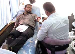 مردم چهاردانگه 17100 سي سي خون به نيازمندان اهداء كردند