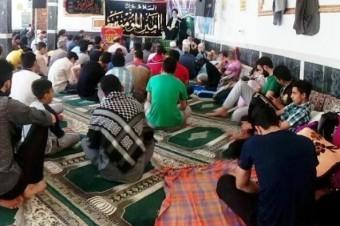 برگزاری مراسم معنوی اعتکاف در چهاردانگه