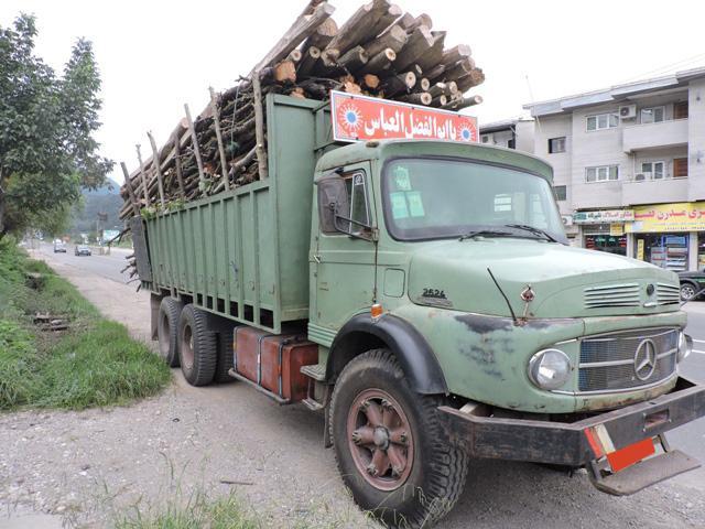 25 تن چوب آلات جنگلی قاچاق در ساری کشف شد