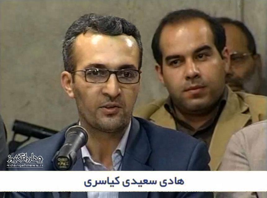 فیلم: شعرخوانی هادی سعیدی کیاسری در محضر رهبر انقلاب