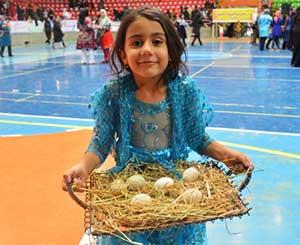 برگزاری جشنواره حرکت و برکت با حضور بانوان چهاردانگه اي در ساري
