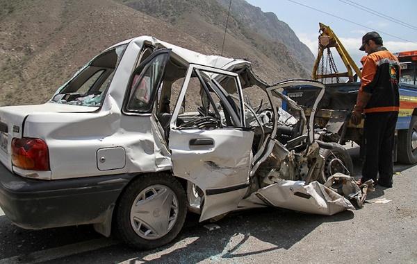 تصادف محور ساری ـ کیاسر 8 مصدوم برجای گذاشت