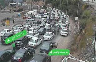 چرا جاده های مازندران و این بار جاده کیاسر یک طرفه می شود؟