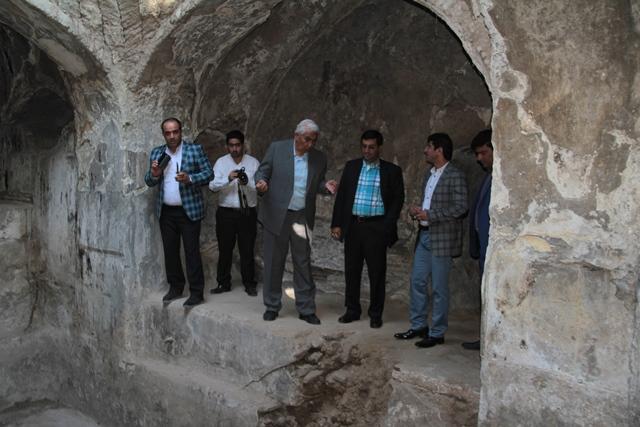 حمام حاج درویش علی خان به یک مرکز فرهنگی تبدیل میشود