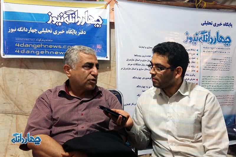گفتگو اختصاصی پایگاه خبری چهاردانگه با دبیر جشنواره روستا در شهر