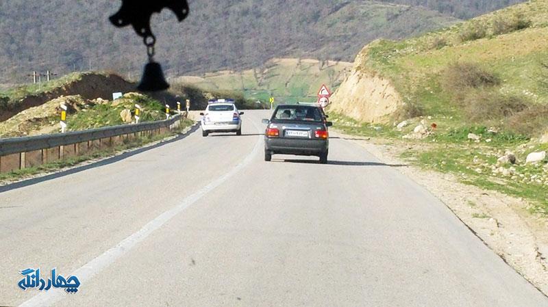 ترافیک در محور کیاسر عادی و روان است