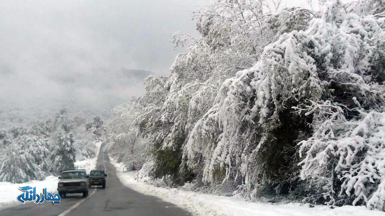 فوری: جاده ساری – کیاسر – سمنان از تاکام بسته  است