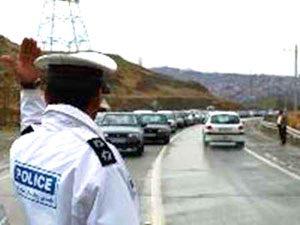 ترافیک سنگین و یکطرفه شدن محور ساری-کیاسر