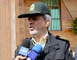 گفتگوی اختصاصی پایگاه خبری چهاردانگه با فرمانده انتظامی مازندران