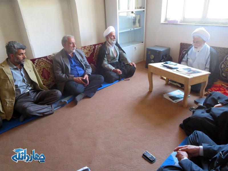 برگزاری جلسه شورای مشورتی نهاد نماز جمعه بخش چهاردانگه