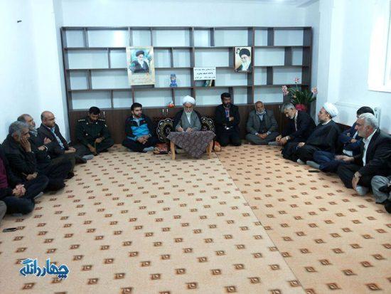 دیدار مسئولین بخش چهاردانگه با حجت الاسلام دکتر تیموری + تصاویر