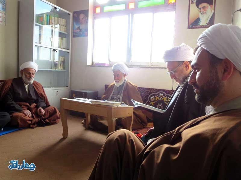 برگزاری جلسه شورای مشورتی در دفتر امام جمعه چهاردانگه