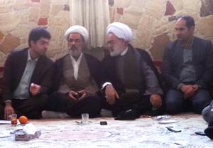 جلسه اعضای شورای روستاهای منطقه نرماب دوسر با مهندس دامادی