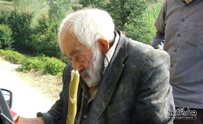 فتح اله جوانمرد،پیرمرد تنها و بی کس روستای ورنام،چشم انتظار جوانمردی