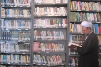 تجهیز و ساماندهی کتابخانه حوزه دین نمایندگی تبلیغات اسلامی کیاسر