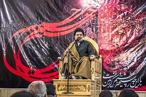 عزاداري در شهرستان خرم آباد با حضور حجت الاسلام ميرعمادي