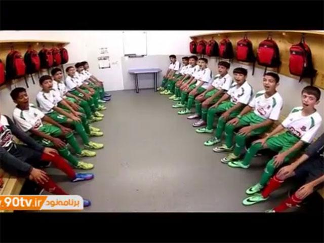 فیلم: حضور امیرمحمد عالیشاه و تیم فوتبال آکادمی کیا در اتریش