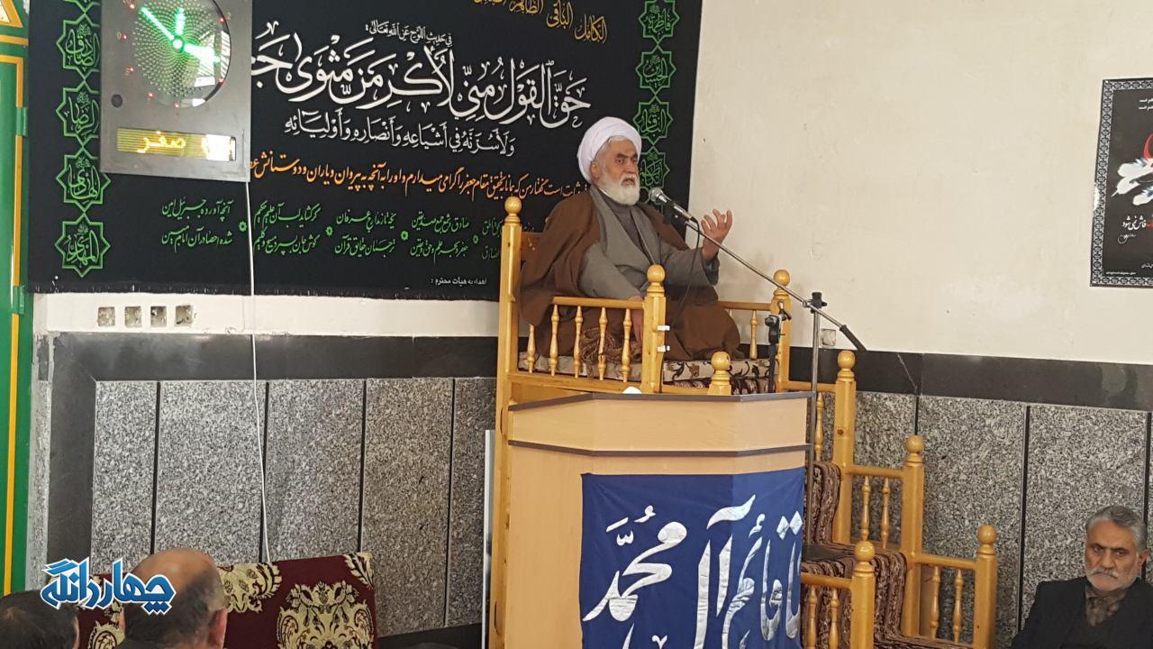 گزارش تصویری مراسم عزداری رحلت رسول اکرم (ص) در روستای لنگر