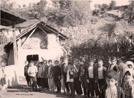 عکس دانش آموزان روستای کرسام در سال 1343
