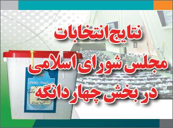 نتایج انتخابات مجلس شورای اسلامی در بخش چهاردانگه
