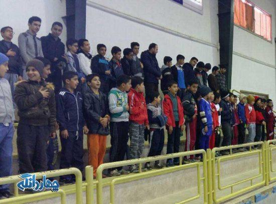 مراسم حمل مشعل اولین المپیاد ورزشی شهرستان ساری در چهاردانگه+تصاویر