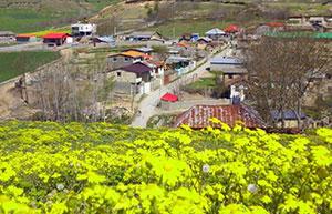 تصاویری بهاری از روستای مازارستاق