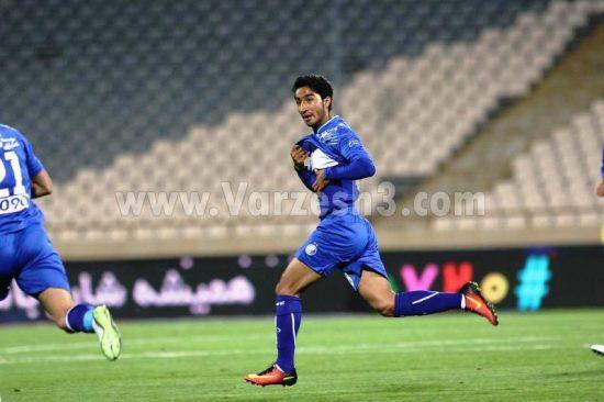 محسن کریمی در تیم منتخب هفته نهم لیگ برتر
