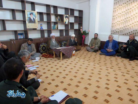 برگزاری شورای مشورتی نهاد نماز جمعه بخش چهاردانگه