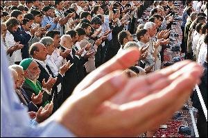 برگزاری نماز عید فطر به امامت حجت الاسلام تیموری در کیاسر