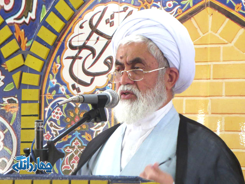 تذکر امام جمعه بخش چهاردانگه در مورد وضعیت آبرسانی روستای چورت+فایل صوتی