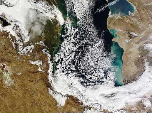 رکورد حداقل دمای آذرماه در مازندران شکسته شد/کیاسر ۱۰- درجه