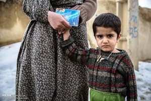 گزارش تصویری معاینه رایگان پزشکان خیر در روستای پشرت