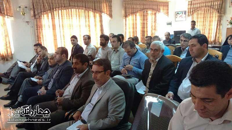 برگزاری جلسه رفع مشکلات آب شرب وکشاورزی شهرستان+تصاویر