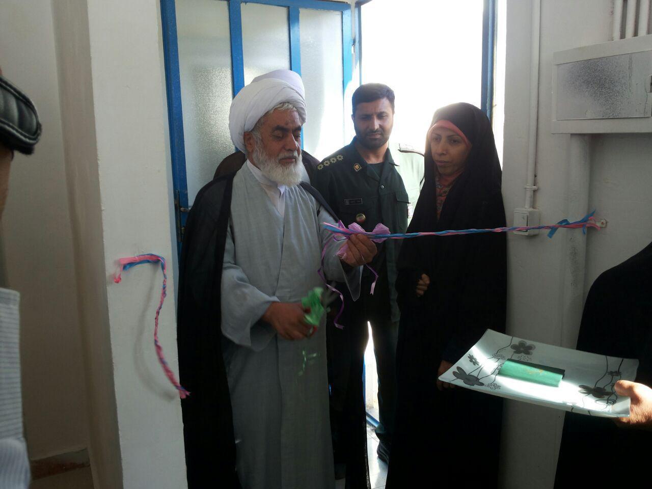 افتتاح کارگاه خیاطی توسط خیمه گاه اهل بیت چهاردانگه