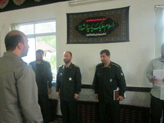 تاسیس حوزه مقاومت بسیج برادران نبی اکرم (ص) در دهستان گرماب