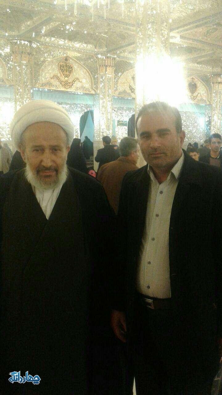 دیدار رییس هیئات مذهبی چهاردانگه با حجت الاسلام دیانی