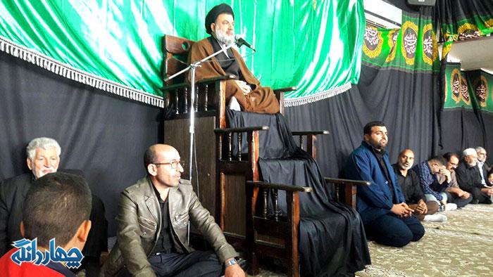 برگزاری مراسم اربعین حسینی با سخنرانی آیت الله میرعمادی