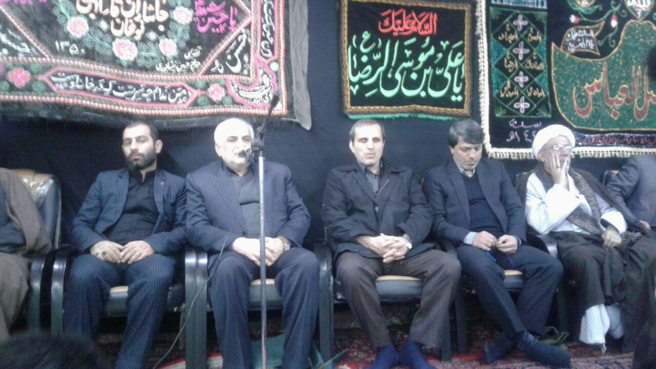 حضور استاندار مازندران و دکتر یوسف نژاد در جمع هیات های مذهبی چهاردانگه در مشهد مقدس+ تصاویر