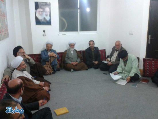 انتخاب حجت الاسلام  سیدمرتضی موسوی به عنوان مسئول ستاد یادواره شهدای چهاردانگه