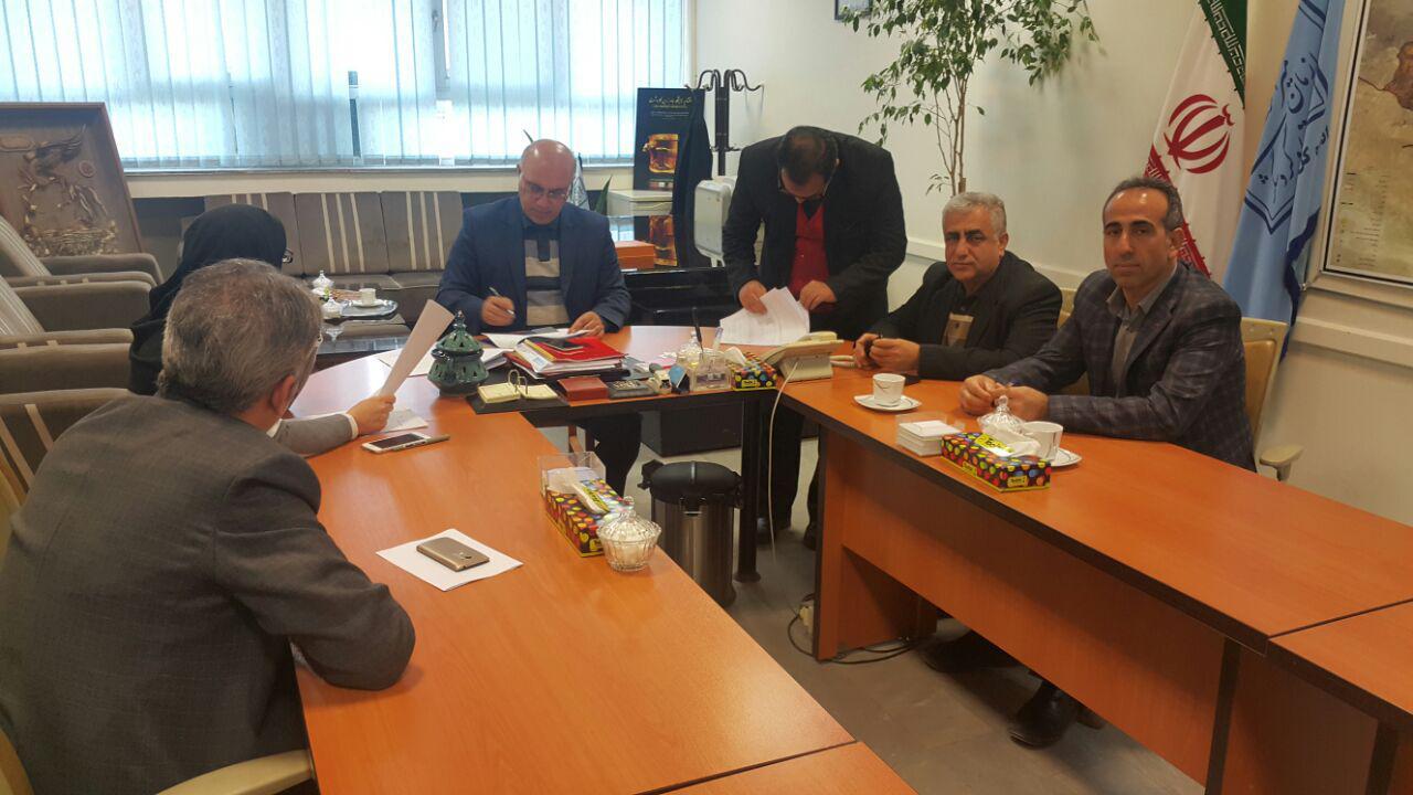 دیدارسلطانی بخشدار چهاردانگه با مدیر کل میراث فرهنگی و گردشگری استان مازندران