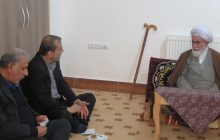 دیدار دکتر یوسف نژاد با امام جمعه بخش چهاردانگه