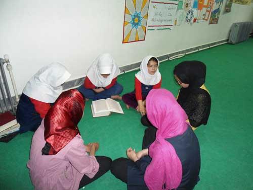 فعالیتهای ماه مبارک رمضان کانون پرورش فکری کودکان مرکز کیاسر