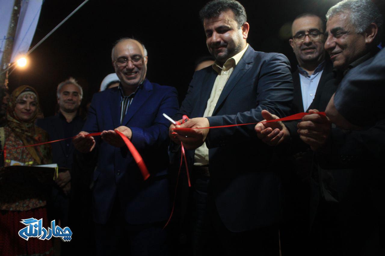 گزارش تصویری از افتتاحیه جشنواره روستا در شهر شهرستان ساری