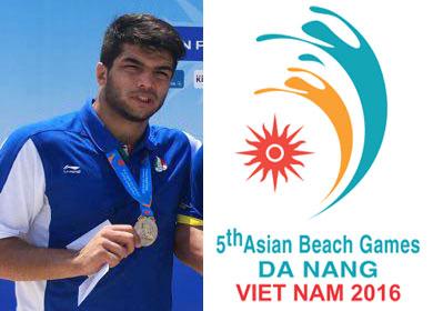 نائب قهرمانی کشتی گیر چهاردانگه ای در مسابقات آسیایی بازیهای ساحلی ویتنام ۲۰۱۶