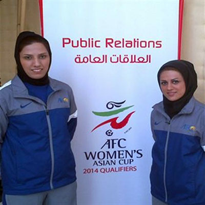 قضاوت داور زن كياسري در مسابقات فوتبال زير 19 سال بانوان آسيا
