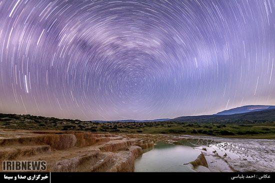 تصاویر فوق العاده از آسمان شب باداب سورت