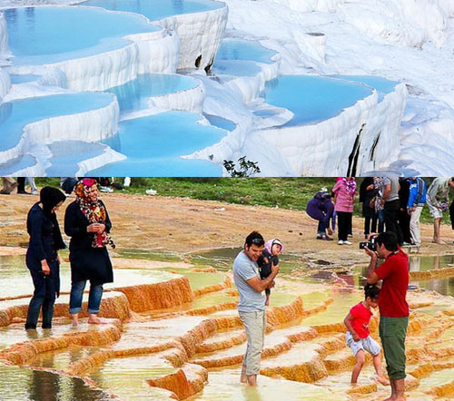 دسترسی گردشگران به چشمه آب معدنی سورت محدود شد