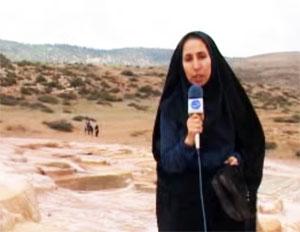 فیلم: گزارش تلویزیونی از آخرین وضعیت چشمه سورت