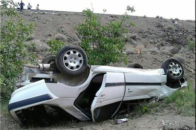 2 کشته در حوادث واژگونی خودرو و موتورسیکلت در ساری